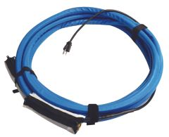 "Valterra AquaFresh High Pressure RV Heated Fresh Water Supply Hose, 120V, 1/2"" x 15', Blue, W01-5315"