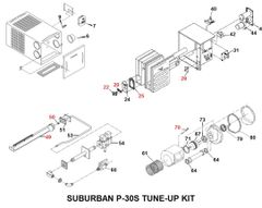 Suburban Furnace Model P-30S Tune-Up Kit