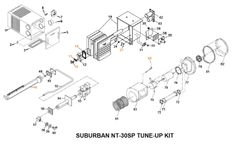 Suburban Furnace Model NT-30SP Tune-Up Kit
