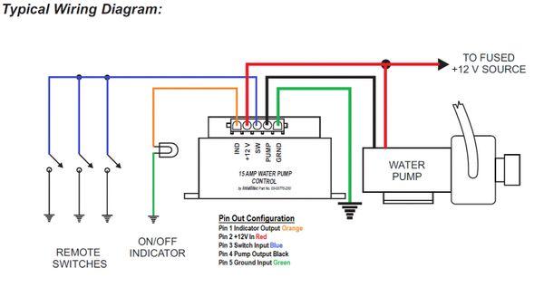Intellitec Water Pump Controller 00