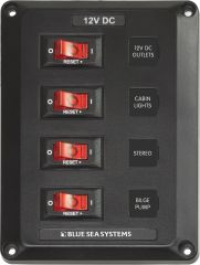 4 Position Circuit Breaker Panel 4350