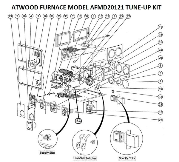 atwood furnace model afmd20121 parts