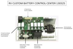 RV Custom Battery Control Center 130325