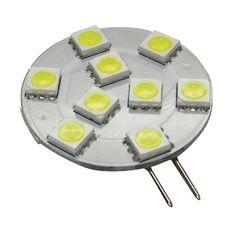G4 Base 9 LED Bulb, Side Pin, 180 Lumens, Daylight White, WP05-0111