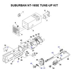 Suburban Furnace Model NT-16SE Tune-Up Kit