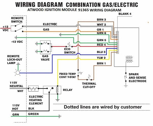 gas heater wiring diagram water heater wiring irv2 forums  water heater wiring irv2 forums