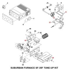 Suburban Furnace Model SF-35F Tune-Up Kit