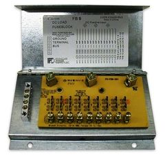 Parallax 9 Circuit Fuse Box FB9