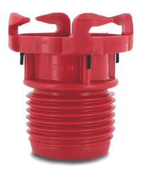 Valterra EZ Coupler Valve Adapter, Red, Carded, F02-3101