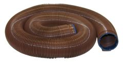 Valterra EZ Flush Heavy Duty Drain Hose, 20′, Bronze, Boxed, D04-0040