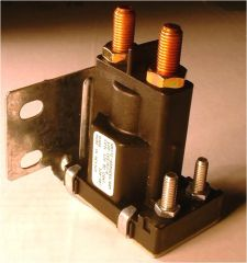 Continuous Duty 12V Solenoid / Relay, 100 AMP, 4 Stud, 120-907