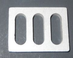 Bay Door Stainless Steel Strike Plate Shim 35966