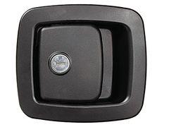 RV Designer Bay Door Locking Handle With Metal Plunger T513