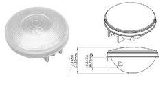 Incandescent 4 Inch Backup Light 1T-L4C