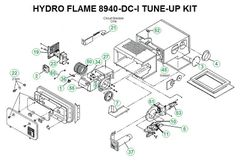 Atwood / HydroFlame Furnace Model 8940-DC-I Tune-Up Kit