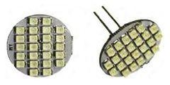 G4 Base 24 LED Bulb, Back Pin, 144 Lumens, White, LB24-W-B