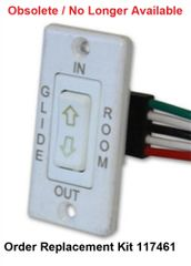 Lippert Slide Out White Switch Kit 173628