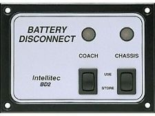 Intellitec Battery Disconnect Panel, BD2, 01-00066-006