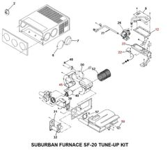 Suburban Furnace Model SF-20 Tune-Up Kit
