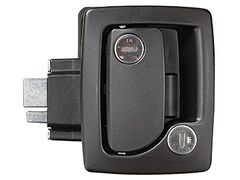 RV Designer Black RV Entry Door Handle T505