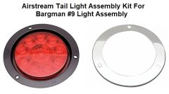 Airstream Tail Light Assembly Replacement for Bargman #9 Light Assembly Kit 2