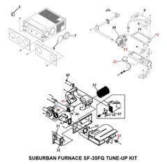 Suburban Furnace Model SF-35FQ Tune-Up Kit