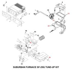 Suburban Furnace Model SF-25Q Tune-Up Kit