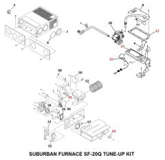 Suburban Furnace Model SF-20Q Tune-Up Kit