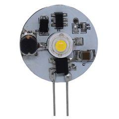 G4 Base 1 LED Bulb, Side Pin, 70 Lumens, Daylight White, L05-0096