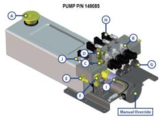 Lippert Pump Assembly 149085