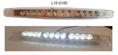 LED Backup Light, 12 LED, L15-0100