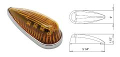 LED Marker Light, Amber 10 Diode, L04-0013