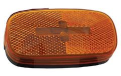 Incandescent Marker Light, Amber, L04-0059A-BLK