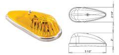 Amber Incandescent Marker Light