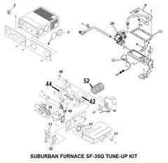 Suburban Furnace Model SF-35Q Tune-Up Kit