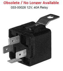 Dash Heater Relay 033-00026
