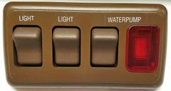 RV Galley Light Switches / Water Pump Switch / Water Pump Indicator Panel AH-ASY-4-2-016