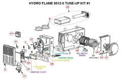 Atwood / HydroFlame Furnace Model 8012-II Tune-Up Kit
