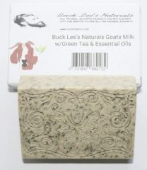 Buck Lee's Naturals Goats Milk Tazo Green Tea w/ Essential Oils Bar Soap