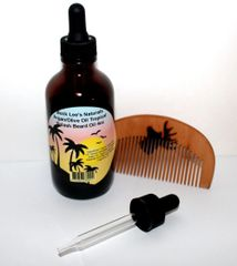 Buck Lee's Naturals Tropical Splash With Argan & Olive Oil Beard Oil 4oz