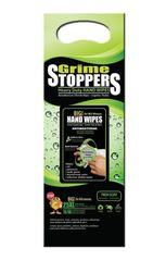 Grime Stoppers 25 Pack Heavy Duty Hand Wipes Cleaner Disinfectant