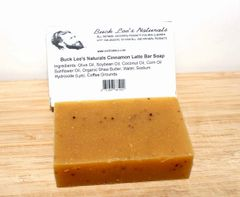 Buck Lee's Naturals Cinnamon Latte Bath & Body Bar 4.8oz