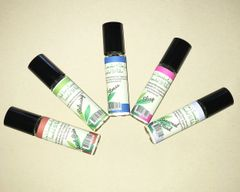Buck Lee's Assorted Essential Oil Blended Roller Bottle (5X10ml)