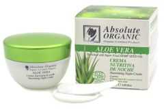 Absolute Organic Aloe & Hemp Seed Oil Nourishing Night Cream 50ml