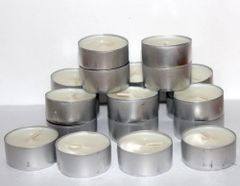 Buck Lee's Naturals 20 Piece 6+ Hour Tea Light Candles Unscented