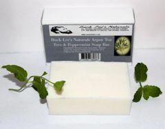 Buck Lee's Naturals Argan Tea Tree & Peppermint Soap Bar