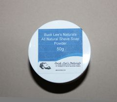 Buck Lee's Naturals Powdered Shave Soap 50g