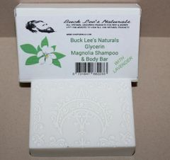 Buck Lee's Naturals Glycerine Magnolia Shampoo & Body Bar 4oz