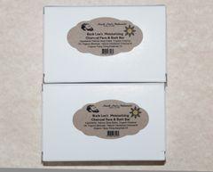 Buck Lee's Naturals Charcoal & Ylang Ylang Marble Swirl Beauty Bar 2pack