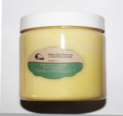 Buck Lee's 100% Natural Cocoa Butter In 8oz & 16oz Sizes
